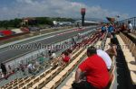 Tribune J, GP Barcelone<br />Circuit de Catalogne Montmelo